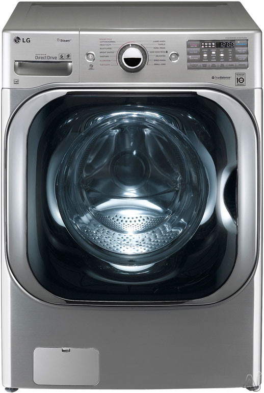 "LG TurboWash Series WM8000H 29"" Front Load Steam Washer with 5.1 cu. ft. Capacity, 14 Washing, U.S. & Canada WM8000H"