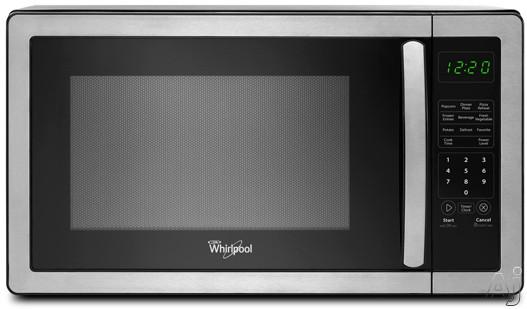 Countertop Stove Trinidad : Whirlpool WMC11511AS 1.1 cu. ft. Countertop Microwave with 1,000 Watts ...