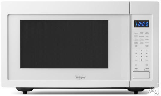 Whirlpool WMC30516AW 1.6 cu. ft. Countertop Microwave with 1,200 Watts, Sensor Cooking and 10 Power, U.S. & Canada WMC30516AW