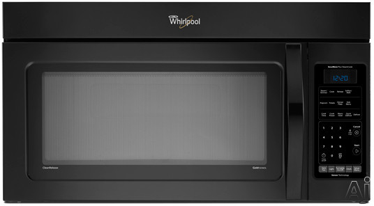 Whirlpool Wmh76718a 1 8 Cu Ft Over The Range Microwave