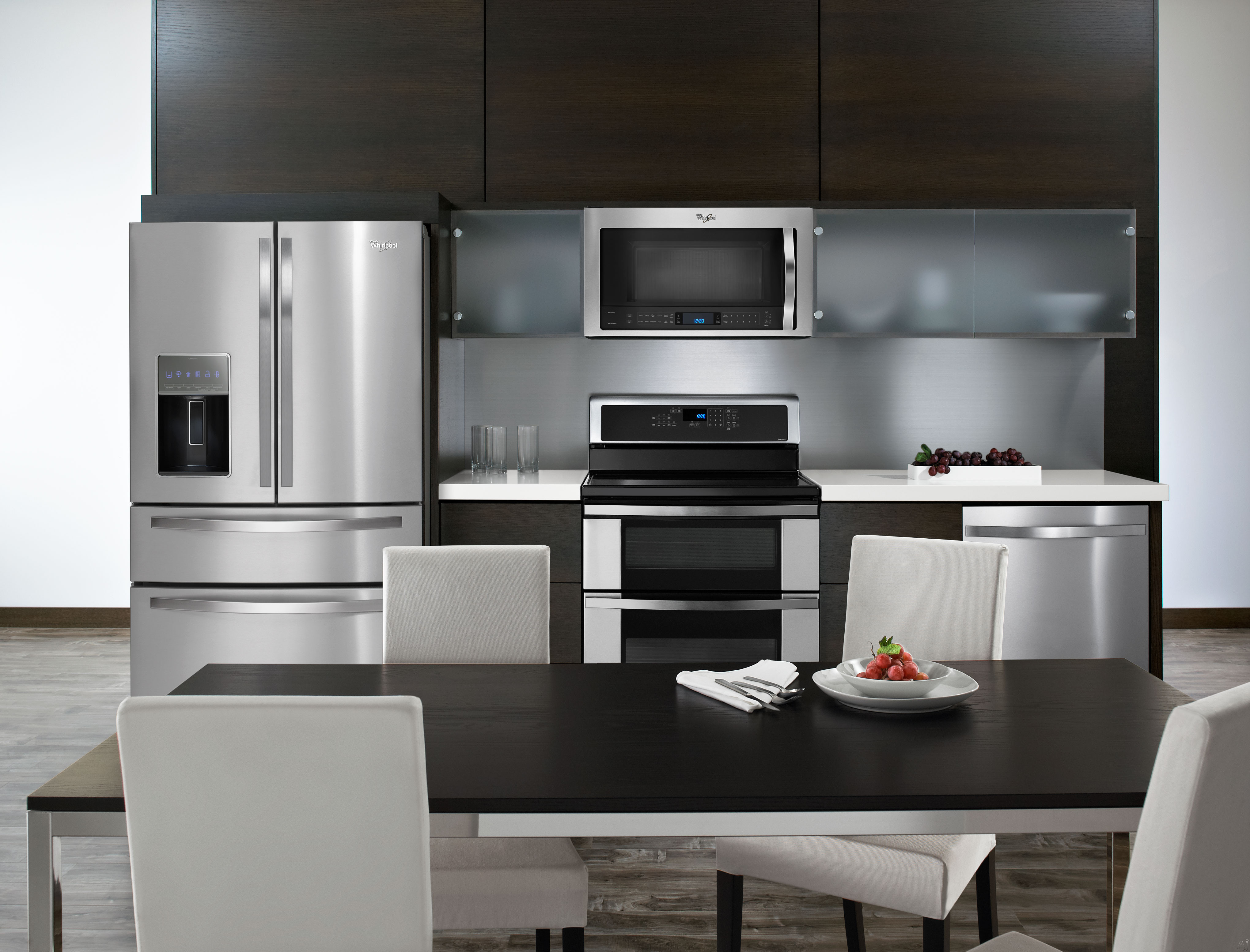 whirlpool wmh76719cs 1 9 cu ft over the range microwave. Black Bedroom Furniture Sets. Home Design Ideas