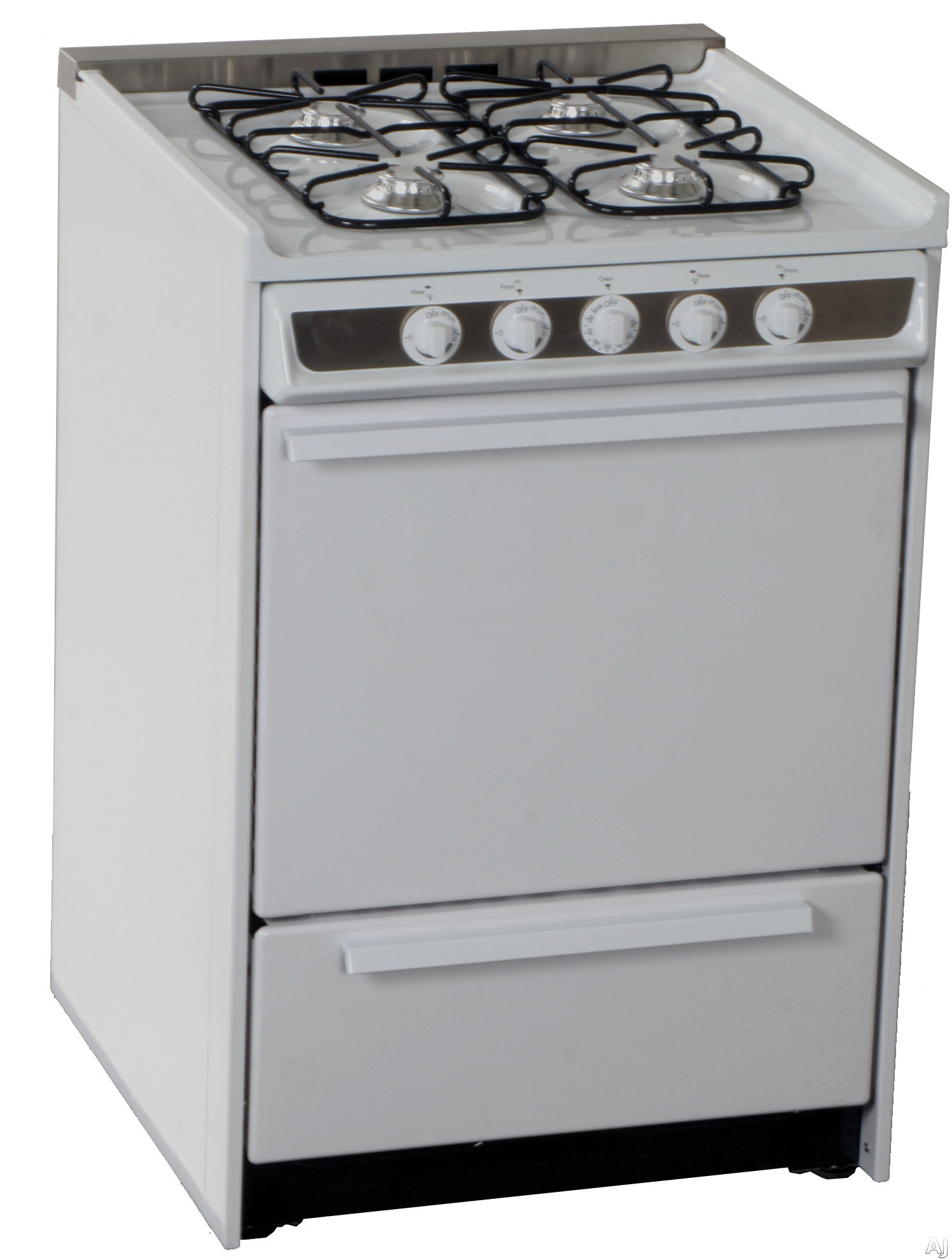 New stuff all time summit professional series wm616r 24 slide in gas range with manual clean - Clean gas range keep looking new ...