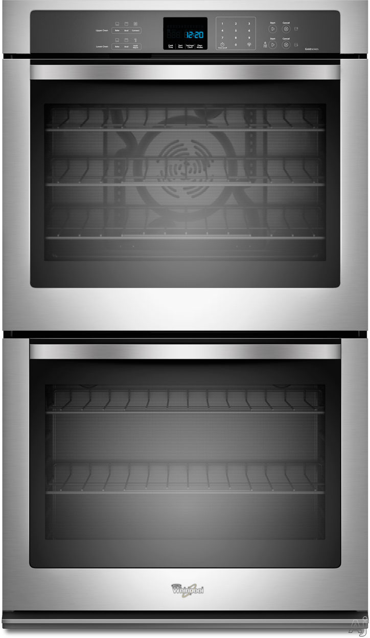 Whirlpool Wod93ec0as 30 Quot Double Electric Wall Oven With 5