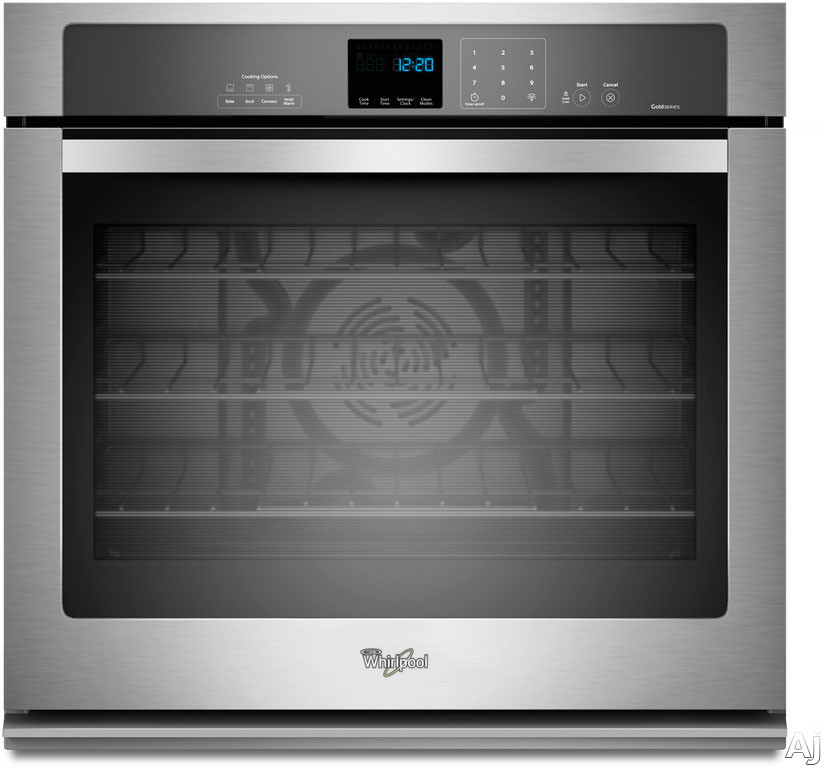 "Whirlpool WOS92EC0AS 30"" Single Electric Wall Oven with 5.0 cu. ft. TimeSavor Ultra True Convection, U.S. & Canada WOS92EC0AS"