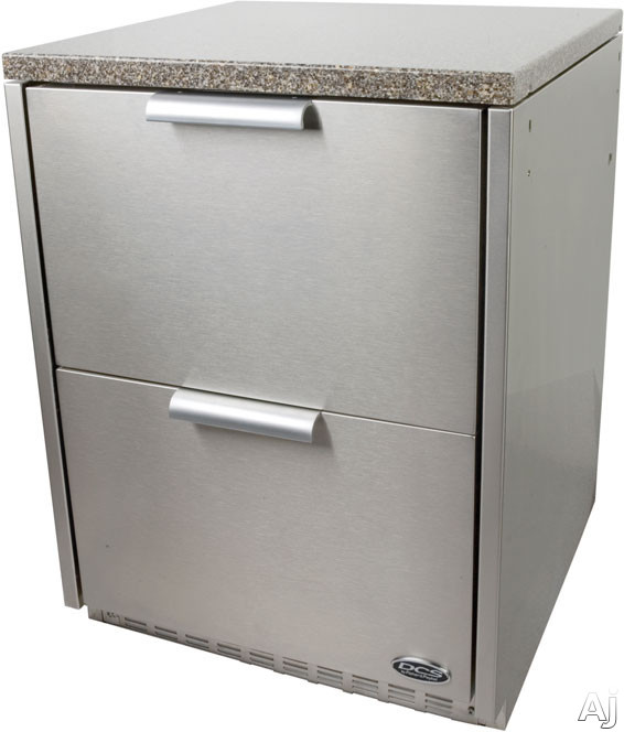 DCS WR24RTD Brushed Stainless Steel Wrapper