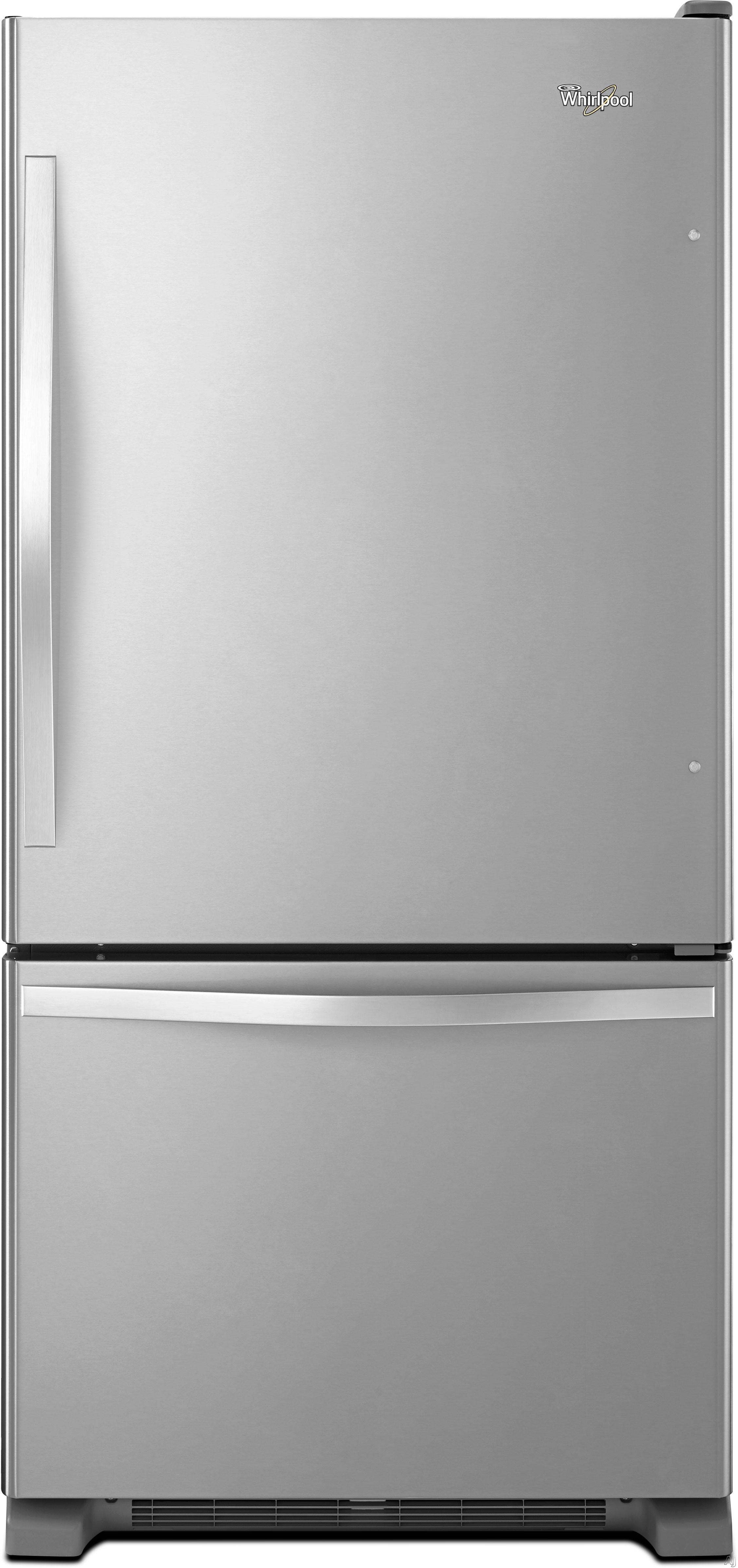 Whirlpool Wrb322dmbm 21 9 Cu Ft Bottom Freezer