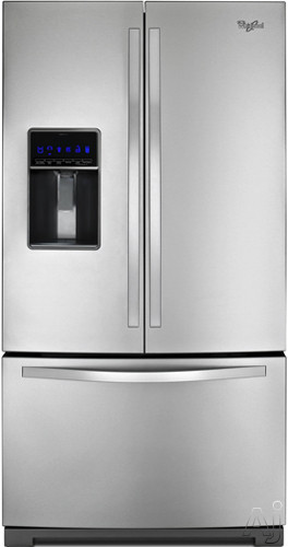 Whirlpool Wrf736sdam 36 Inch French Door Refrigerator With