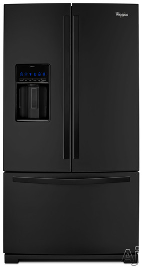 Whirlpool WRF989SDAB 29 cu. ft. French Door Refrigerator with MicroEdge Shelves, Measured Fill Ice /, U.S. & Canada WRF989SDAB