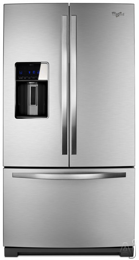 Whirlpool WRF989SDAM 29 cu. ft. French Door Refrigerator with MicroEdge Shelves, Measured Fill Ice /, U.S. & Canada WRF989SDAM