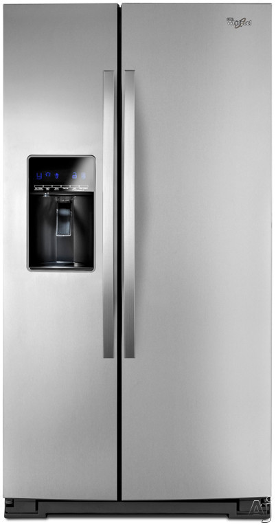 Whirlpool WRS537SIAF 26.5 cu. ft. Side by Side Refrigerator with Adjustable Gallon Door Bins, U.S. & Canada WRS537SIAF