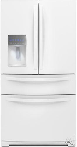 Whirlpool WRX988SIBW 28.1 cu. ft. French Door Refrigerator with Double Freezer Storage, Adjustable, U.S. & Canada WRX988SIBW