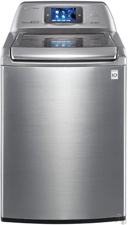 """LG WT6001HV 27"""" Top-Load Washer with 4.7 cu. ft. Capacity, 14 Wash Cycles, 12 Options, Smart ThinQ, U.S. & Canada WT6001HV"""