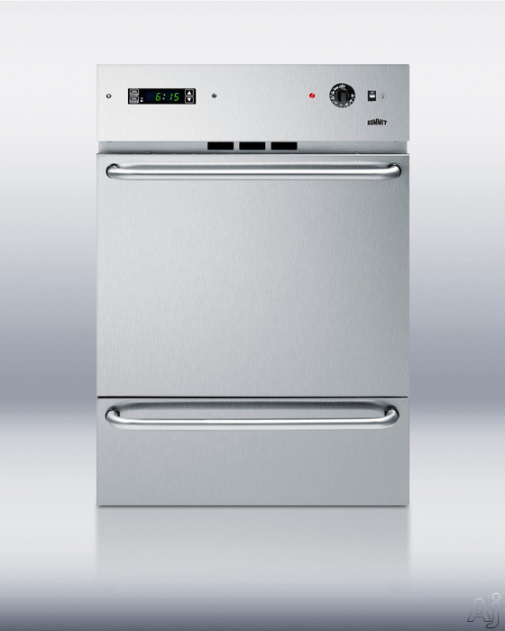 Summit Wtm7212kwss 24 Quot Single Gas Wall Oven With 2 92 Cu