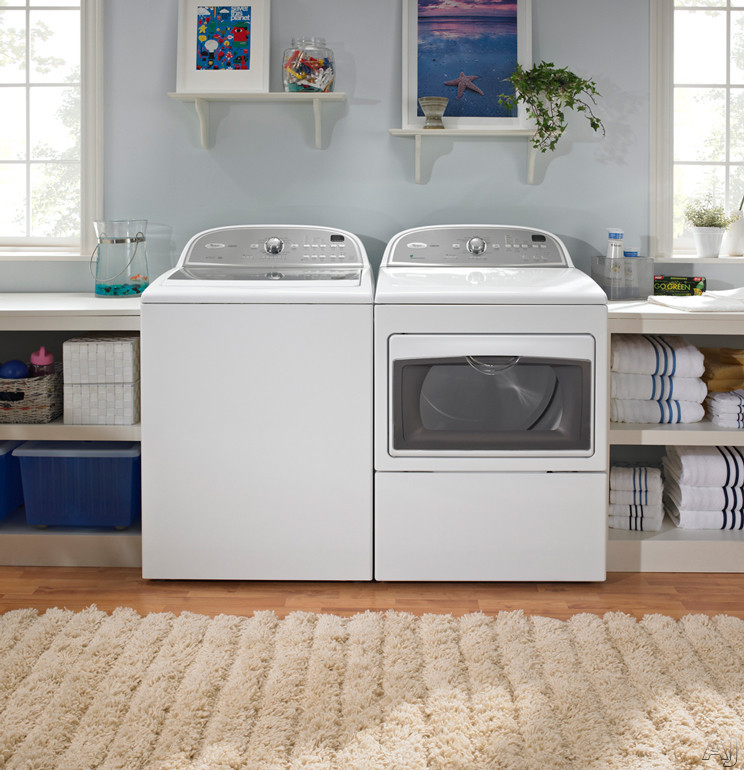 Washer Dryer Whirlpool Cabrio Wtw5700xw 27 Quot Top Load