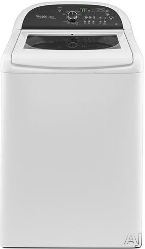 """Whirlpool Cabrio WTW8100BW 28"""" Top Load Washer with 4.5 cu. ft. Capacity, 11 Wash Cycles, Adaptive, U.S. & Canada WTW8100BW"""