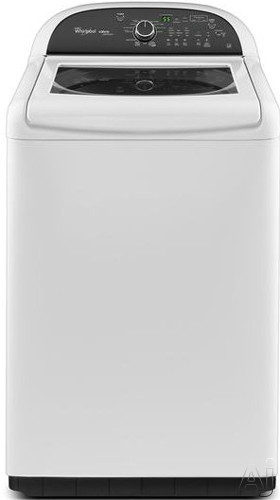 """Whirlpool WTW8500BW 28"""" Top-Load Washer with 4.8 cu. ft. Capacity, 13 Wash Cycles, 4 Temperature, U.S. & Canada WTW8500BW"""