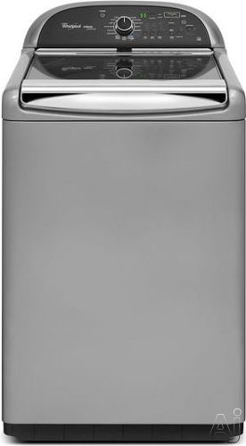 """Whirlpool Cabrio WTW8900BC 27"""" Top-Load Washer with 4.8 cu. ft. Capacity, 16 Cycles, 5 Temperatures, U.S. & Canada WTW8900BC"""