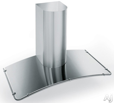 Futuro Futuro Moon Inox Series WL24MOONINOX Wall Mount Chimney Range Hood with 940 CFM Internal Blower, 4 Speed Electronic Controls, Halogen Lights, Curved Stainless Steel Panel and Convertible to Recirculation: 24 in. Width