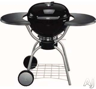 22.5 Inch One Touch Platinum Charcoal Grill