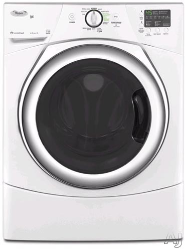 Whirlpool Wfw9250w 27 Quot Front Load Washer With 3 5 Cu Ft