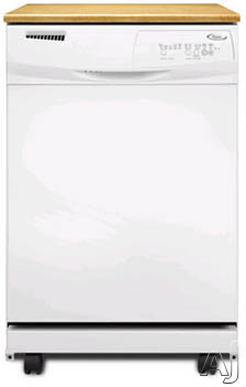 24-in Full Console Dishwasher-White