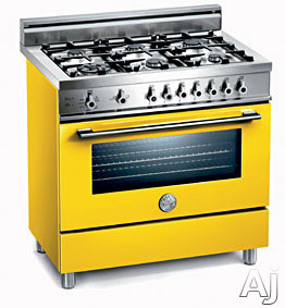 Giallo / Yellow of 6 Burners Model