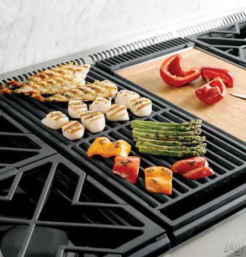 15,000 BTU Cast-Iron Reversible Grill Grate