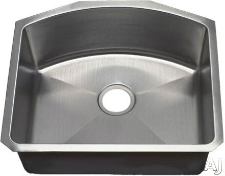 Empire Industries A1 23 Inch Undermount Sink with 18 Gauge Stainless Steel Construction