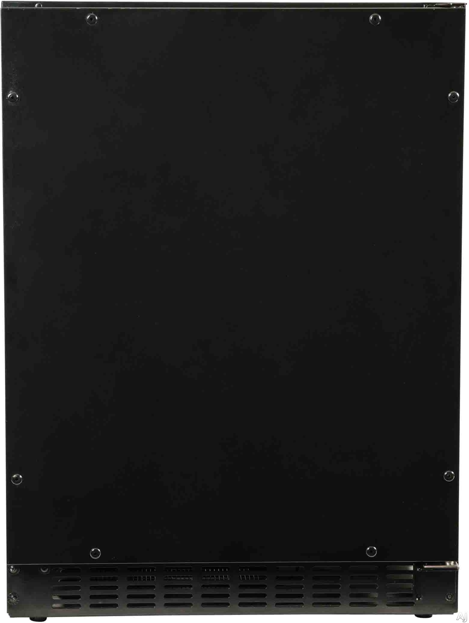 Azure A124ro 24 Inch Compact Refrigerator With Blue Led Lighting, Field Reversible Door, Auto Defrost, A.d.a. Compliant And 5.1 Cu. Ft. Capacity:panel Ready-glass