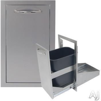 Alfresco ABTC 17 Inch Stainless Steel Trash Center Drawer