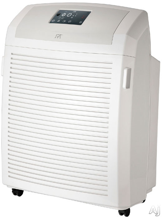 Sunpentown AC2102 Heavy Duty Air Cleaner with HEPA/Carbon/VOC/TiO2 Filters, 4 Fan Speeds, On/Off Timer and Remote Control AC2102