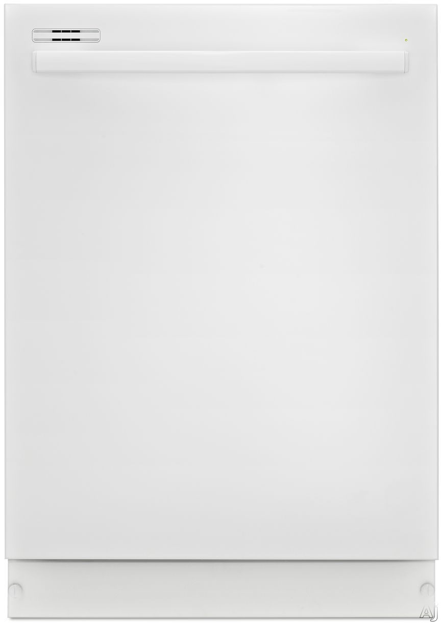 Amana ADB1500ADW Fully Integrated Dishwasher with 5 Wash Cycles 5 Wash Options 12 Place Setting Capacity Triple Filter Wash System and Energy Star Qualified White
