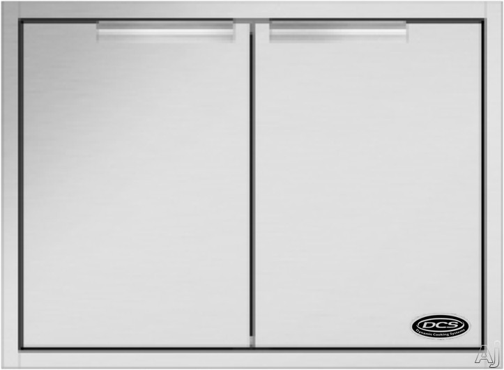 DCS ADN120X30 Outdoor Access Door Storage with 304 Series Stainless Steel Construction: 30""