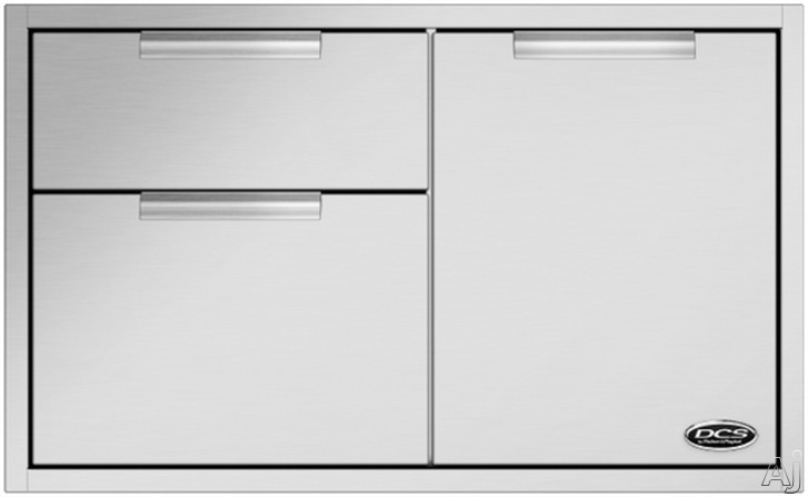 DCS ADR236 Outdoor Access Drawer Storage with 304 Series Stainless Steel Construction 36