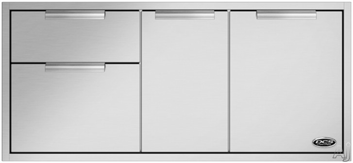DCS ADR248 Outdoor Access Drawer Storage with 304 Series Stainless Steel Construction 48