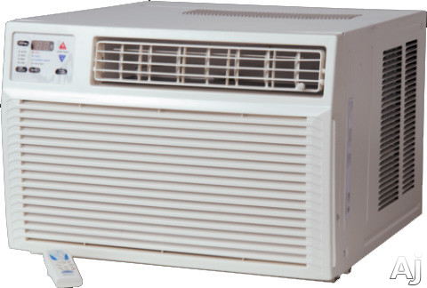 Amana Ae093g35ax 9,000 Btu Room Air Conditioner With 10,700 Btu Electric Heat, 11.0 Eer, 2.3 Pts/hr Dehumidification, Polypropylene Air Filter, Remote Control And 230/208 Volts