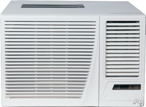 Amana Ae183g35ax 17,600 Btu Room Air Conditioner With 11,000 Btu Electric Heat, 10.8 Eer, 4.2 Pts/hr Dehumidification, Polypropylene Air Filter, Remote Control And 230/208 Volts