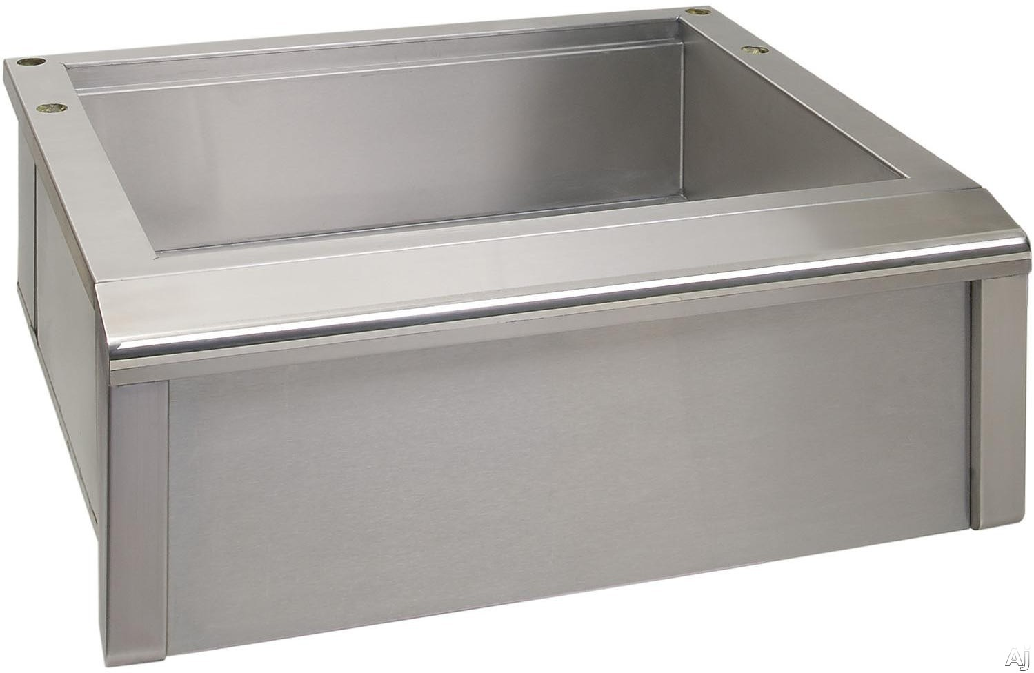 Alfresco AGBC30 30 Inch Stainless Steel Main Sink System with Cutting Board Drain and Optional Accessory Modules