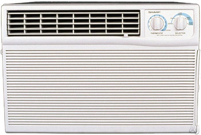 Sharp Afm80bx 8 000 Btu Library Quiet Mid Size Air Conditioner