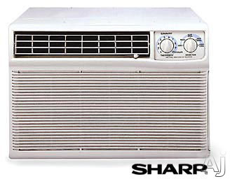 Sharp Afm808x 8 000 Btu Wall Window Library Quiet Air Conditioner