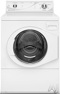 Speed Queen AFN50RSP113TW01 27 Inch 3.42 cu. ft. Front Load Washer with 5 Wash Cycles 1 200 RPM 440 G Force High Speed Water Extraction Bleach Fabric Softener Dispensers and ENERGY STAR Qualification