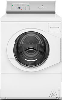 Speed Queen AFNE9RSP113TW01 27 Inch 3.42 cu. ft. Front Load Washer with 9 Wash Cycles 1 200 RPM Favorite Cycles Option 440 G Force High Speed Water Extraction 4 Soap Compartments Prewash Soak ADA Comp