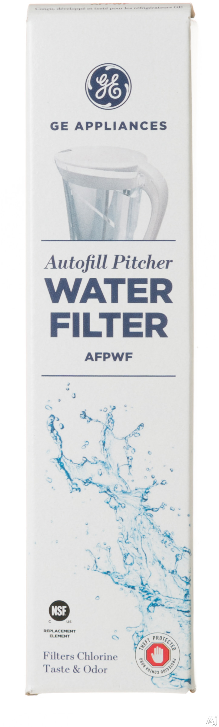 GE Parts AFPWF Auto Fill Pitcher Water Filter