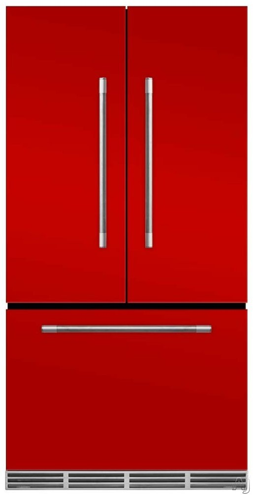 AGA Mercury MMCFDR23SCR 36 Inch Counter Depth French Door Refrigerator with Storage Drawer with 12 Temperature Settings, Ice Maker, Ice/Water Filters, Cantilever Glass Shelves, Gallon Door Storage, Wine Rack, Can Racks, Star-K Sabbath Mode and 2.6 cu ft C