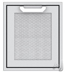 Hestan AGADL18BG 18 Inch Single Access Door: Tin Roof, Left Hinge