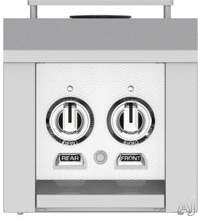 Hestan AGB122NGWH 12 Inch Double Side Burner with 30,000 BTU for Hestan Built-In or Cart-Attached Grills: Froth