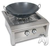 Alfresco Versa Power Series AGVPCWOK 22 Inch Professional Wok