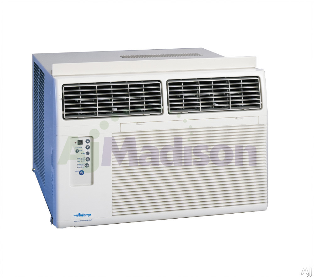 Airtemp b7d18e7a 17500 btus room air conditioner window for 15 width window air conditioner
