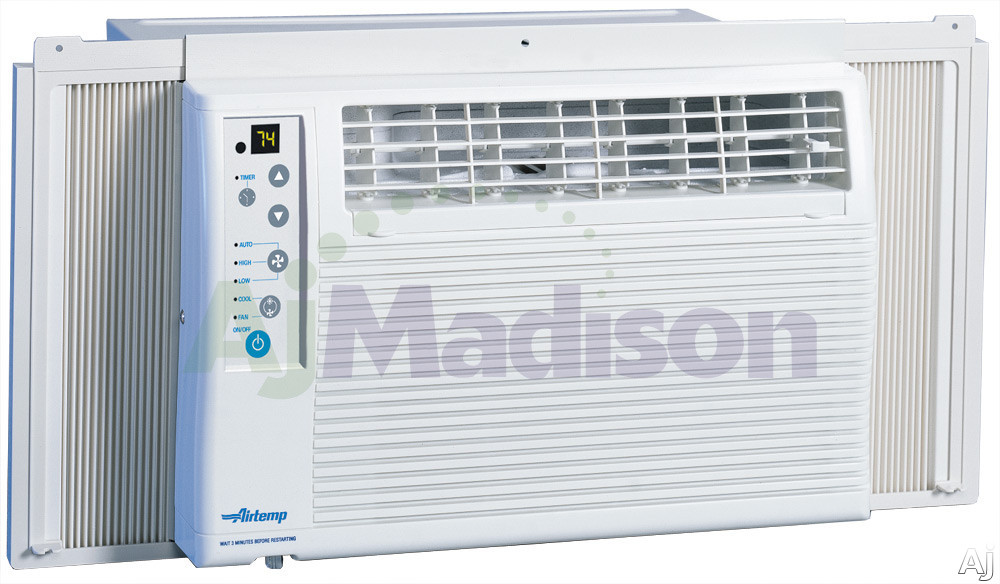 Airtemp b7x05f2a 19 x chassis window air conditioner w for 17 wide window air conditioner
