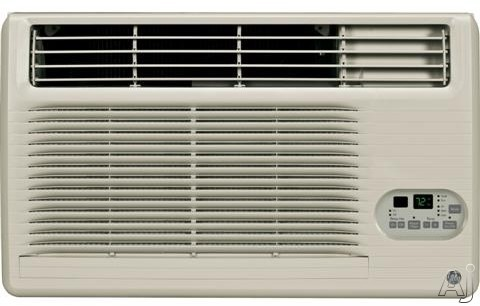 GE AJCM08ACG 8,400 BTU Thru-the-Wall Air Conditioner with 10.7 EER, R-410A Refrigerant, 1.9 Pts/Hr Dehumidification, Energy Saver, Electronic Controls, Remote Control, ADA Compliant and Energy Star Rated AJCM08ACG